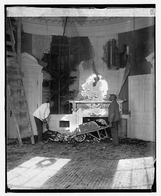 Hoover Office After Fire,Washington,DC,District Of Columbia,December 1929 3126 • 9£