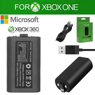$13.99 • Buy For Xbox One X Controller Play Charging Charger Cable Rechargeable Battery Pack