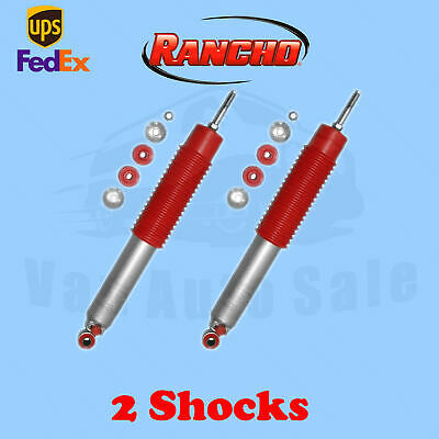 $235.96 • Buy Rancho RS9000XL Front 1-2.5  Lift Shocks For GMC Sierra 2500HD 4WD 01-10 Kit 2
