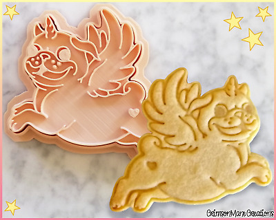 AU10 • Buy Pug Dog Unicorn Cookie Cutter Pugicorn Cute Biscuit Baking Supply Fondant Tool