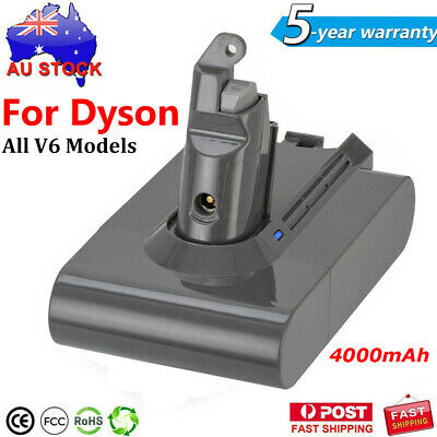AU30.95 • Buy 4000mAh Replacement Battery For Dyson V6 Series Vacuum Cleaner SV06 DC58 DC61