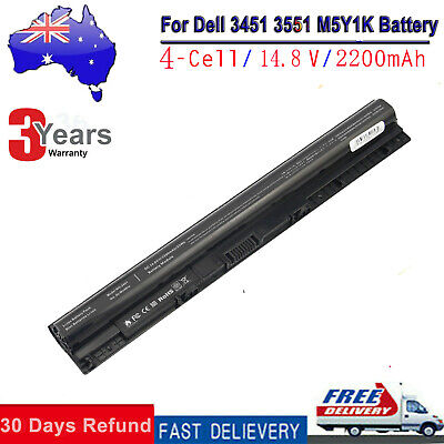 AU38.99 • Buy M5Y1K Battery For DELL Inspiron 3451 3551 3567 5558 5758 14 15 3000 Series