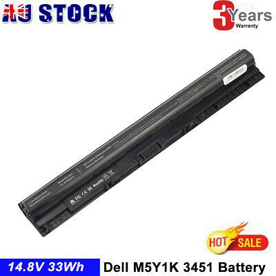 AU38.99 • Buy Laptop Battery For DELL M5Y1K Inspiron 3451 3551 5558 5758 Vostro 3458 3558