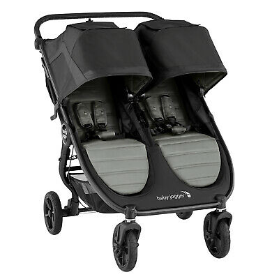 Latest New Baby Jogger® City Mini® GT2 Double Slate All Terrain Pushchair For 2 • 568.65£