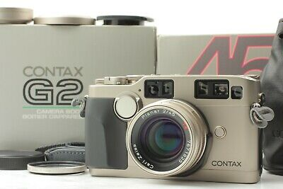 $1399.90 • Buy [MINT In BOX] Contax G2 45mm F/2 Rangefinder Film Camera Hood Cap From Japan 891