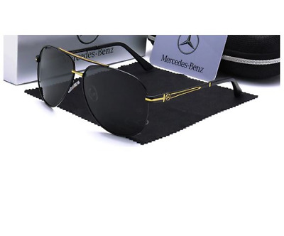 Mercedes Benz Sunglasses With Mercedes Box Men Women Polarized Driving UV400  C • 18.16£