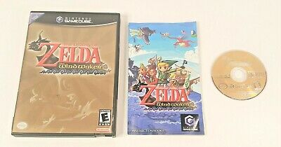 $62.99 • Buy Legend Of Zelda: The Wind Waker (GameCube, 2003) COMPLETE, FREE SHIPPING TESTED