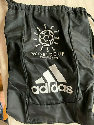 $5 • Buy 2010 World Cup Gym Shoe Bag Clothes Storage Pouch Adidas Boston