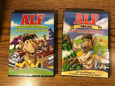 £23.99 • Buy Alf Animated Adventures & Alf Tales DVD LOT 16 EPISODES 5+ HOURS ANIMATED NEW