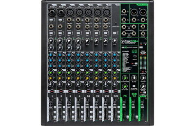 $329.99 • Buy Mackie ProFX12 V3 10-Channel Professional Effects Mixer With USB, New!