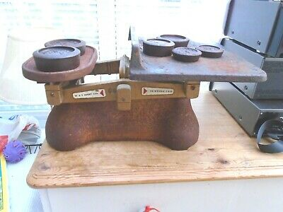 £20 • Buy Vintage AVERY Weighing Scales With Platform And Weights