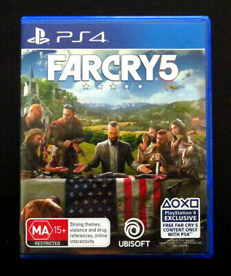 AU16.90 • Buy Sony Playstation 4 PS4 Far Cry 5 Video Game, Ubisoft Aus Version Used VGC