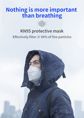 AU15 • Buy KN95 Mask Face Masks Reusable Disposable Anti Dust Respirator Filter Pack 5 Pcs
