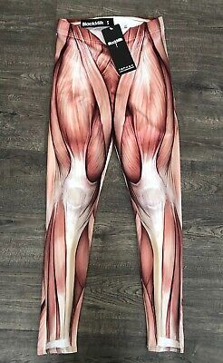 $39 • Buy New With Tags! WOMEN's Black Milk Clothing Muscle Leggings Size Small S