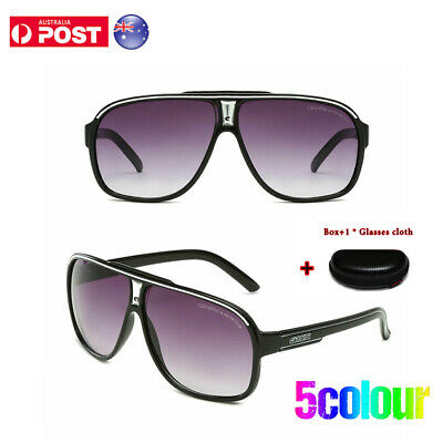 AU16.99 • Buy Carrera Ms Men's  Ruthenium Pilot Sunglasses  Gradient Lens Eye Glasses +Box