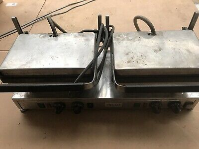 Velox High Speed Double Flat Plate Twin Contact Grill Griddle Panini Commercial • 500£