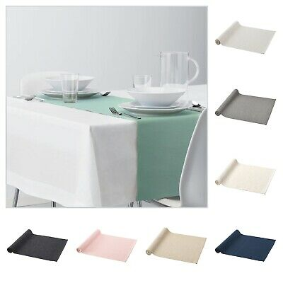 AU18.99 • Buy IKEA Table Runner Dining Kitchen Textile Runners Black Pink White Grey Blue, Etc