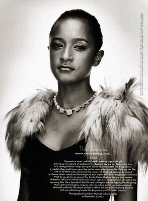 $ CDN5.33 • Buy Keisha Castle-Hughes 1-page Clipping 2004 The Discovery