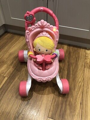 £15 • Buy Fisher Price Stroll Along Musicsl Walker And Doll
