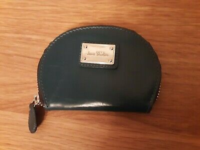 Jane Shilton Navy Leather Purse • 5.99£