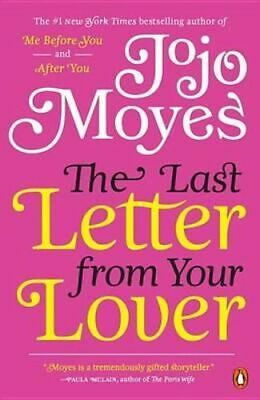 AU30.95 • Buy NEW The Last Letter From Your Lover By Jojo Moyes Paperback Free Shipping