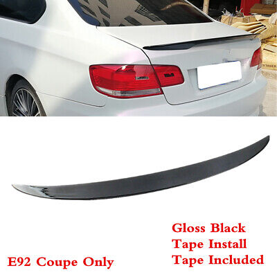 $50.99 • Buy Fit For BMW 3 Series E92 Coupe 2007-2013 Trunk Lip Spoiler Wing Painted Black