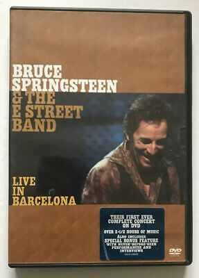 Bruce Springsteen & The E Street Band – Live In Barcelona - 2X DVD • 4.50£