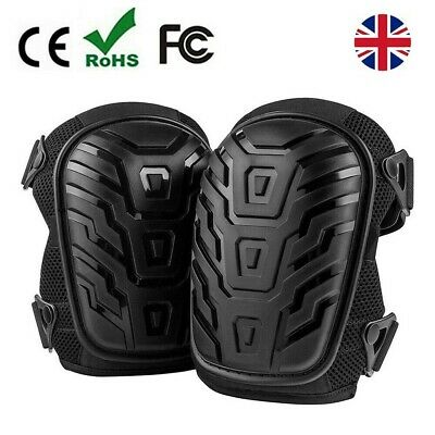 Heavy Duty Gel Filled Pro Knee Pads Protectors Safety Quick Release Work Trade • 13.99£