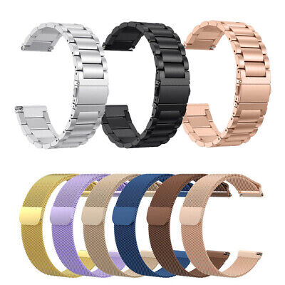 $ CDN7.91 • Buy For Fitbit Versa 2 /Versa Lite Stainless Steel Watch Band Milanese Loop Strap