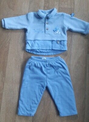 £4.99 • Buy *Designer* Coco Baby Boy Top Trousers Outfit Set Age 0-3 Months