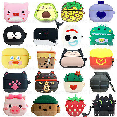 $ CDN6.89 • Buy For Apple AirPods Pro Wireless Charging Case Animals Silicone Protective Cover