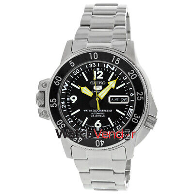 $ CDN377.99 • Buy Seiko 5 Compass Automatic Black Dial Mens Watch SKZ211J1