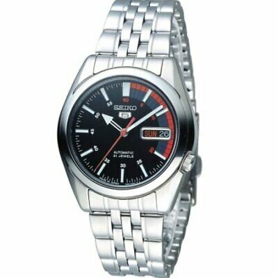 $ CDN161.99 • Buy Seiko Series 5 Automatic Black Dial Mens Watch SNK375J1