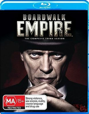 AU17.99 • Buy Boardwalk Empire: Complete Season 3 (Blu-ray, 5-Disc Set)  New And Sealed