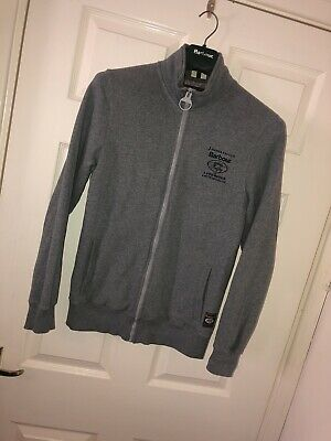 Mens Small Barbour Jacket Rare Barbour Rugby For Land Rover Clothing Grey AW15  • 112.50£