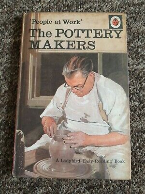 Ladybird Book Series 606B People At Work The Pottery Makers 1st Edition 1969 • 7.49£