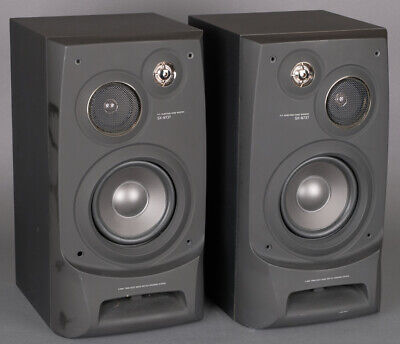 $58.13 • Buy Aiwa SX-N737 Bookshelf Speakers 80W 6 Ohms -  V-Good Shape - Fully Operational!