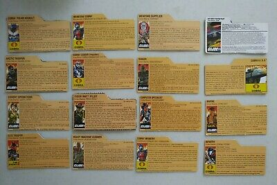 $ CDN19.60 • Buy GI Joe Lot Of Modern File Cards! Hasbro 25th Anniversary