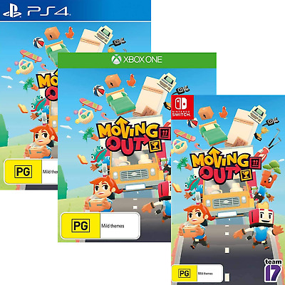 AU78 • Buy Moving Out PS4 XBOX One Nintendo Switch Family Kids Co-op Puzzle Sim Style Game