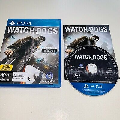 AU8.50 • Buy Watch Dogs - PlayStation 4 PS4 - AUS - Free Post