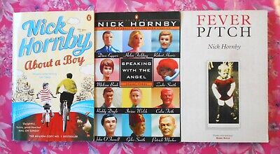 Nick Hornby Bundle // 3 Books (About A Boy / Fever Pitch / Speaking With) • 10£