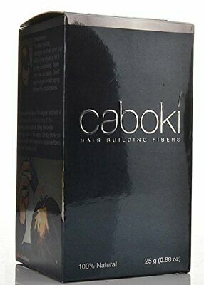 Caboki Authentic Hair Loss Concealer Fibres - Dark Brown - 25g - 100% Natural • 8.99£