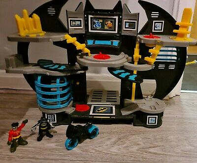 Batman Imaginext Bat Cave Playset - With Batman And Robin • 29.99£