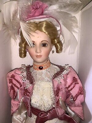 $ CDN54.13 • Buy Victorian Girl Porcelain Doll From The Collector's Choice Series Coca Cola