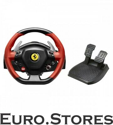 $268.90 • Buy Thrustmaster Ferrari 458 Spider Steering Wheel Xbox One Pedals Metal Genuine New