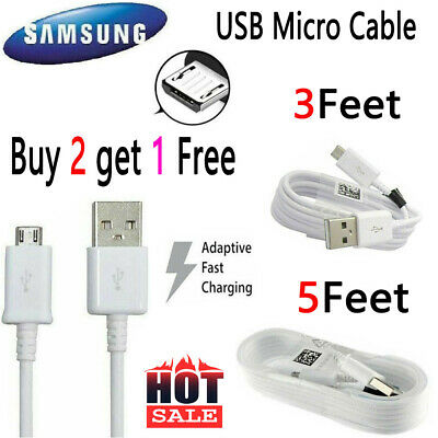 $ CDN7.18 • Buy OEM Samsung Galaxy S7 S6 Edge Note5 Note 4 Origina Fast Charger Micro USB Cable