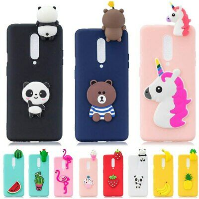 $ CDN20.55 • Buy Silicone Case For OnePlus 7 Pro Case Oneplus7 Soft TPU Cover Unicorn Bear
