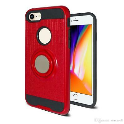 AU8 • Buy Iphone 7 Plus/8 Plus Hybrid Amor Rugged Case With Ring Kickstand. Assorted Color