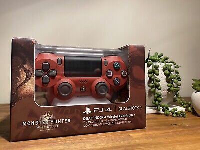 AU300 • Buy Dualshock 4 Wireless Controller MONSTER HUNTER: WORLD EDITION PS4