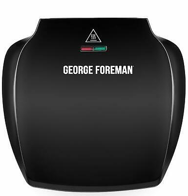 £35.99 • Buy George Foreman Family 5-Portion(510 Sq Cm Plate) Grill 23420 - Black